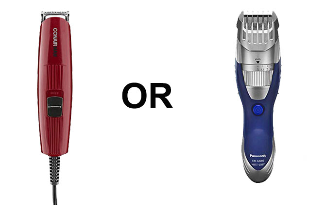 Corded or Cordless beard trimmer