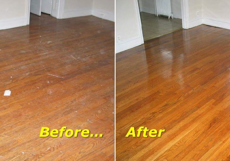 How To Clean Dirty Hardwood Floors The Right Way