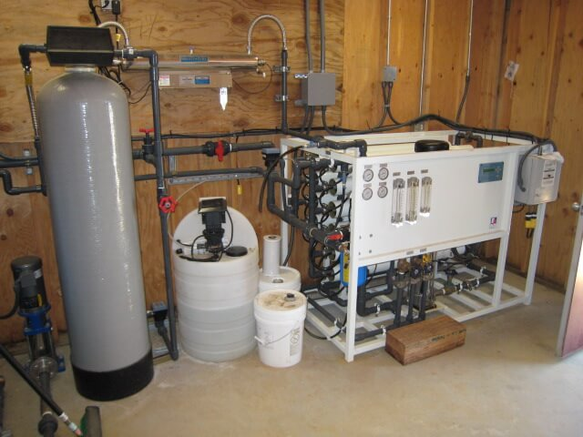 Set Up for a Well Water Filtration System