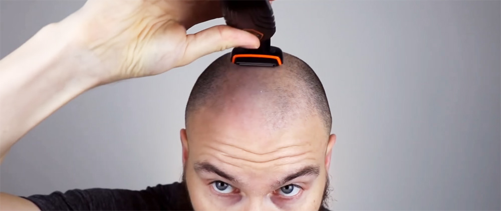 How to Shave Your Head with An Electric Razor